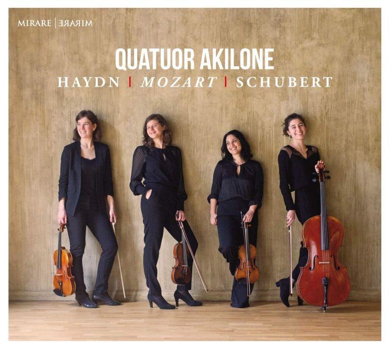 MIR388. HAYDN; MOZART; SCHUBERT Quartets (Quatour Akilone)