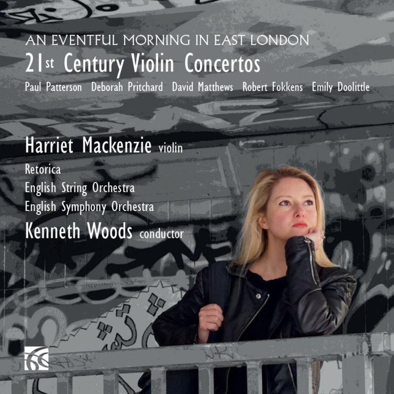 NI6295. An Eventful Morning in East London: 21st Century Violin Concertos