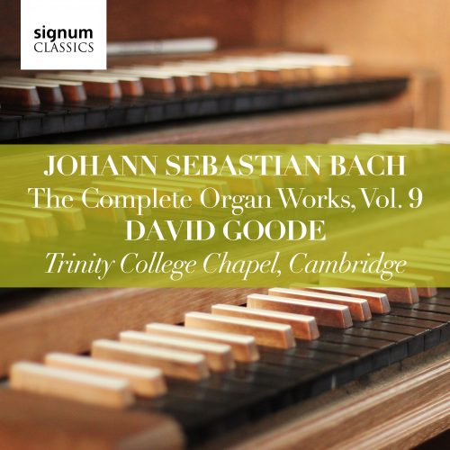 SIGCD809. JS BACH The Complete Organ Works, Vol 9