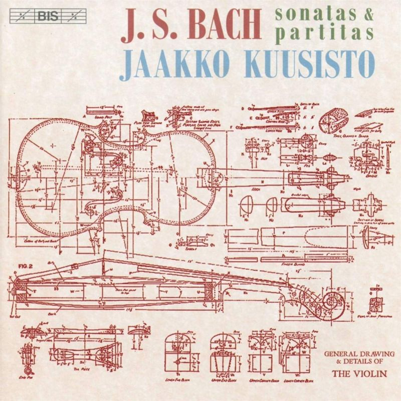 Review of JS BACH Sonatas and Partitas (Kuusisto)