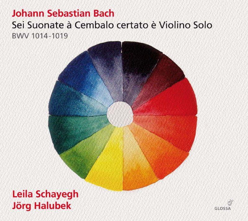 GCD923507. JS BACH Sonatas for Violin and Harpsichord BWV1014-1019