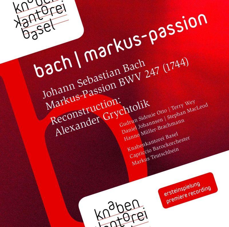 ROP60 9091. JS BACH St Markus Passion
