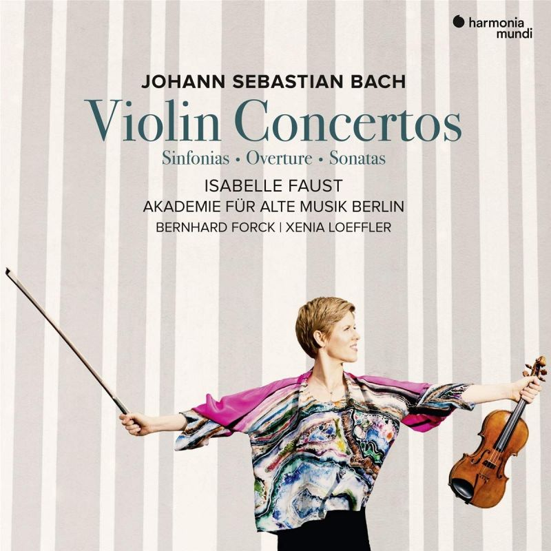 Review of JS BACH Violin Concertos (Isabelle Faust)