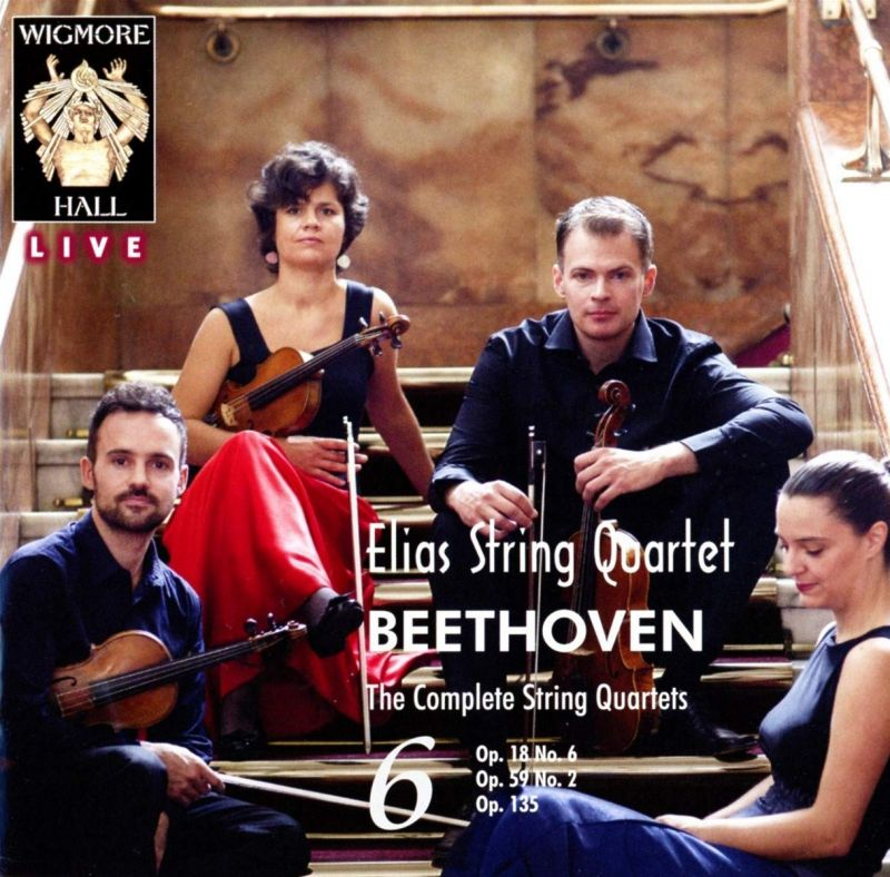 Review of BEETHOVEN The complete string quartets, Vols 5 & 6