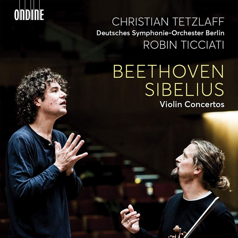 Review of BEETHOVEN; SIBELIUS Violin Concertos (Tetzlaff)