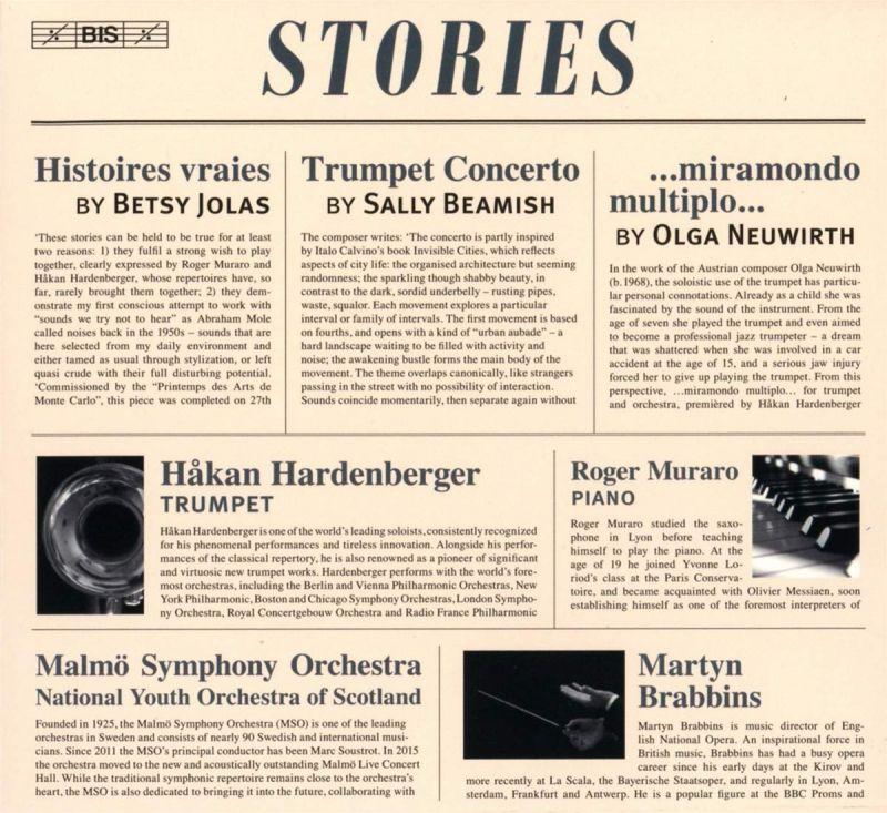 Review of BEAMISH; JOLAS; NEUWIRTH Trumpet Concertos