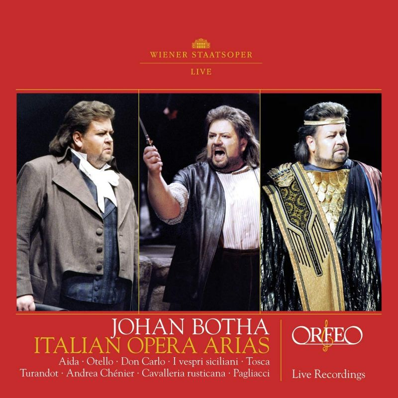 Review of Johan Botha: Italian Opera Arias