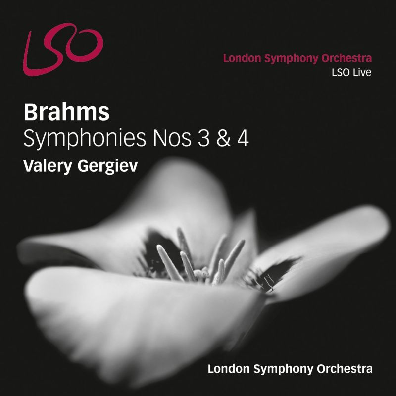 LSO0737. BRAHMS Symphonies Nos 3 & 4