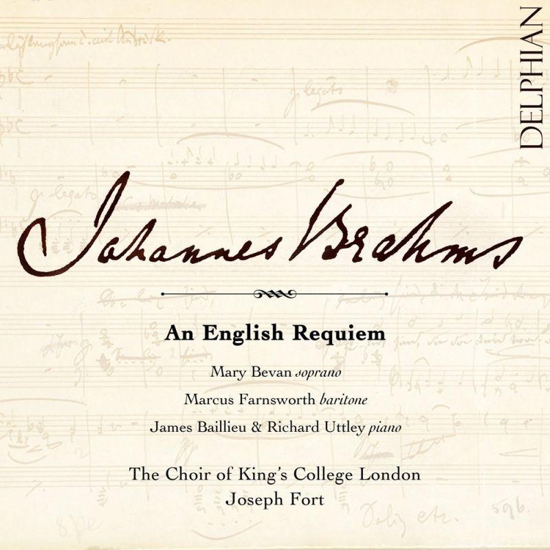 DCD34195. BRAHMS An English Requiem
