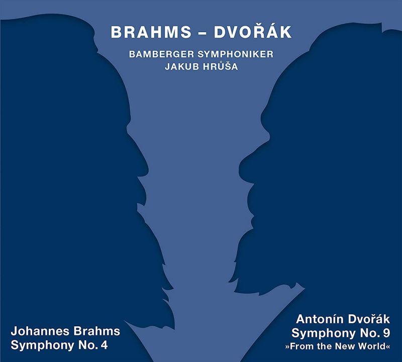 Review of BRAHMS Symphony 4 DVORÁK Symphony 9 (Hrůša)