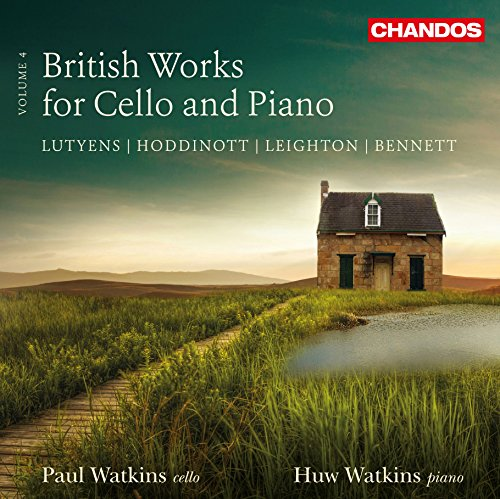 CHAN10862. British Works for Cello and Piano