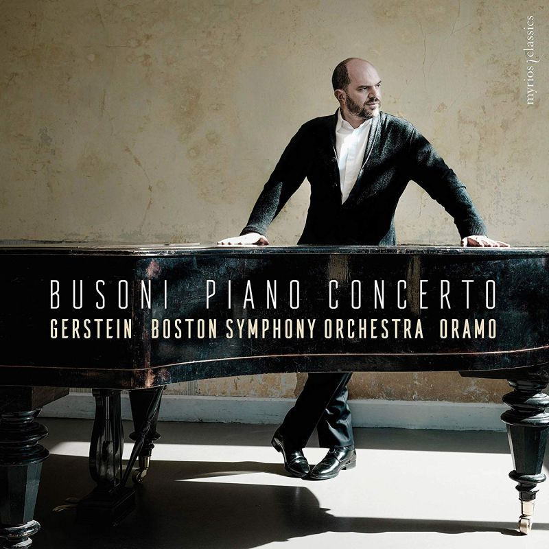 Review of BUSONI Piano Concerto (Gerstein)
