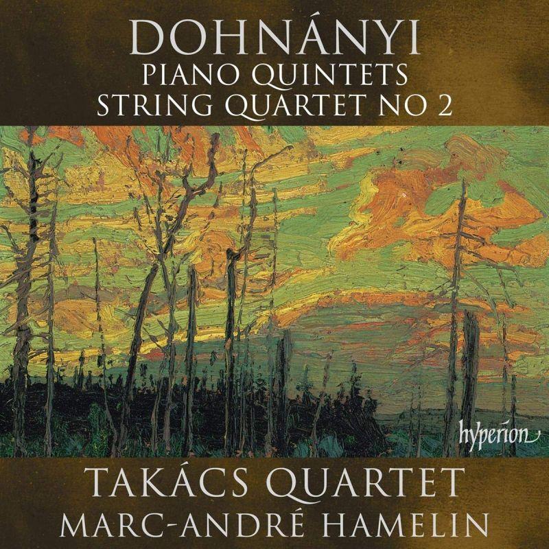 CDA68238. DOHNÁNYI Piano Quintet. String Quartet No 2