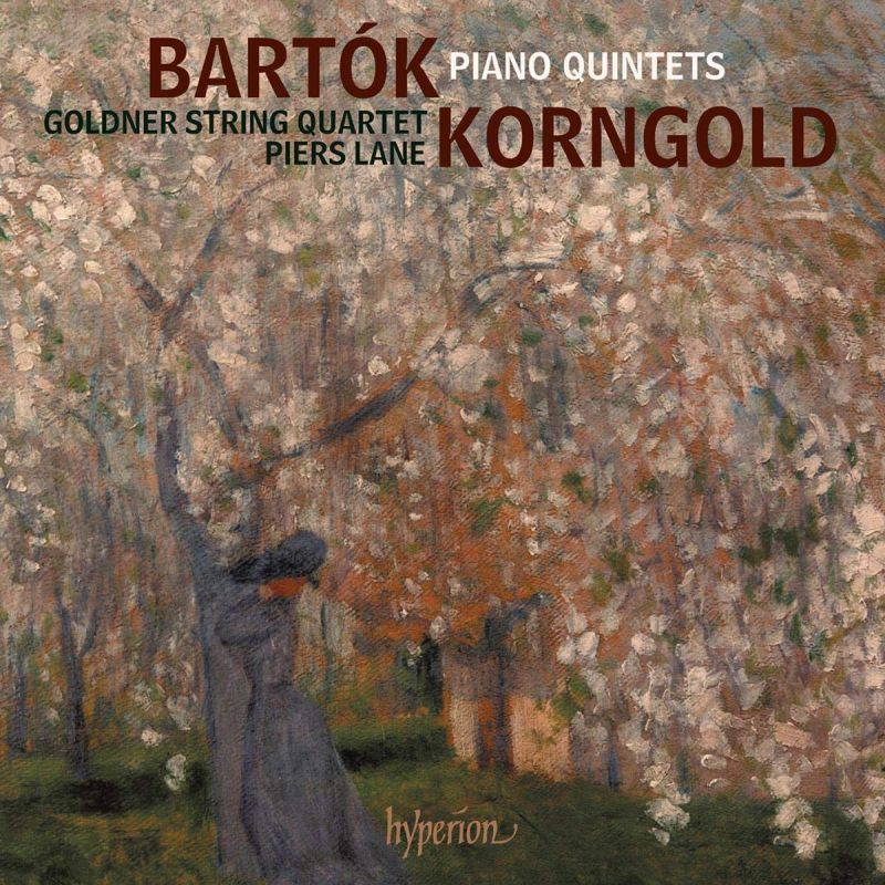 Review of BARTÓK; KORNGOLD Piano Quintets (Goldner Quartet)
