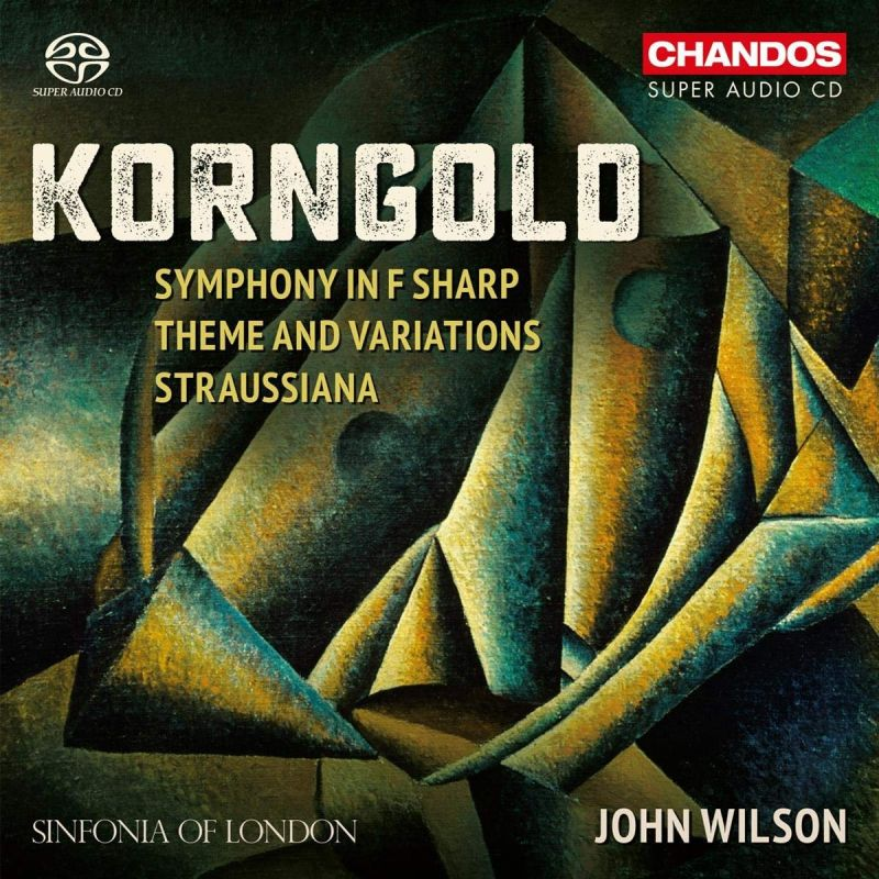 Review of KORNGOLD Symphony. Straussania (Wilson)