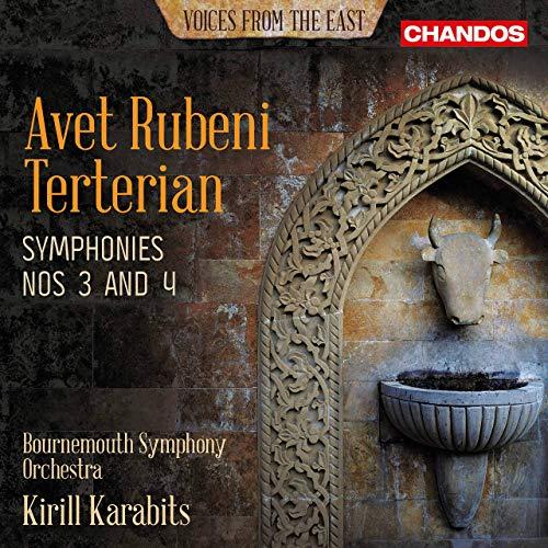 CHSA5241. TERTERIAN Symphonies 3 & 4