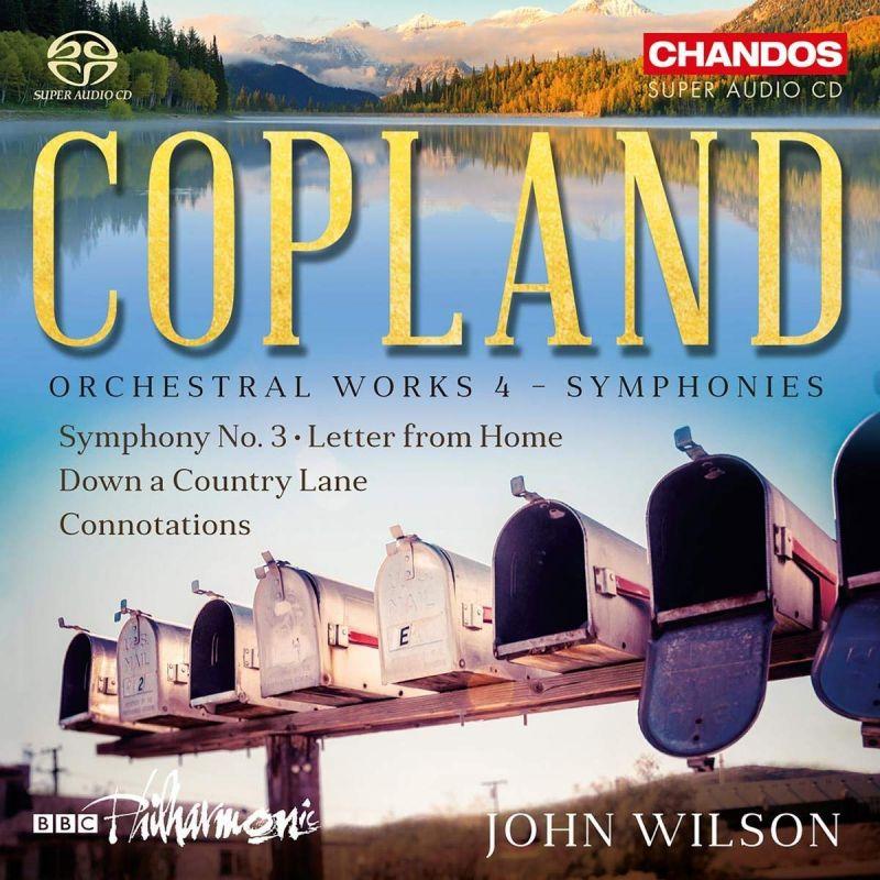 CHSA5222. COPLAND Orchestral Works, Vol 4 (Wilson)