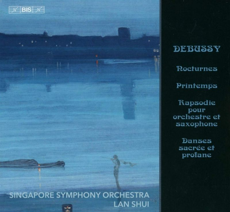 Review of DEBUSSY Nocturnes etc (Shui)