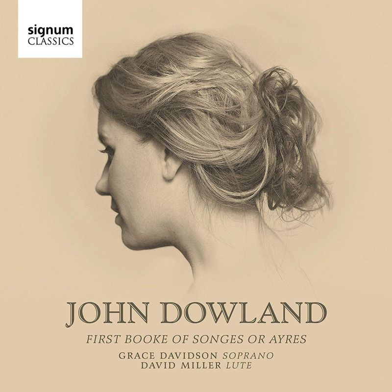 Review of DOWLAND First Book of Songes or Ayres (Grace Davidson)