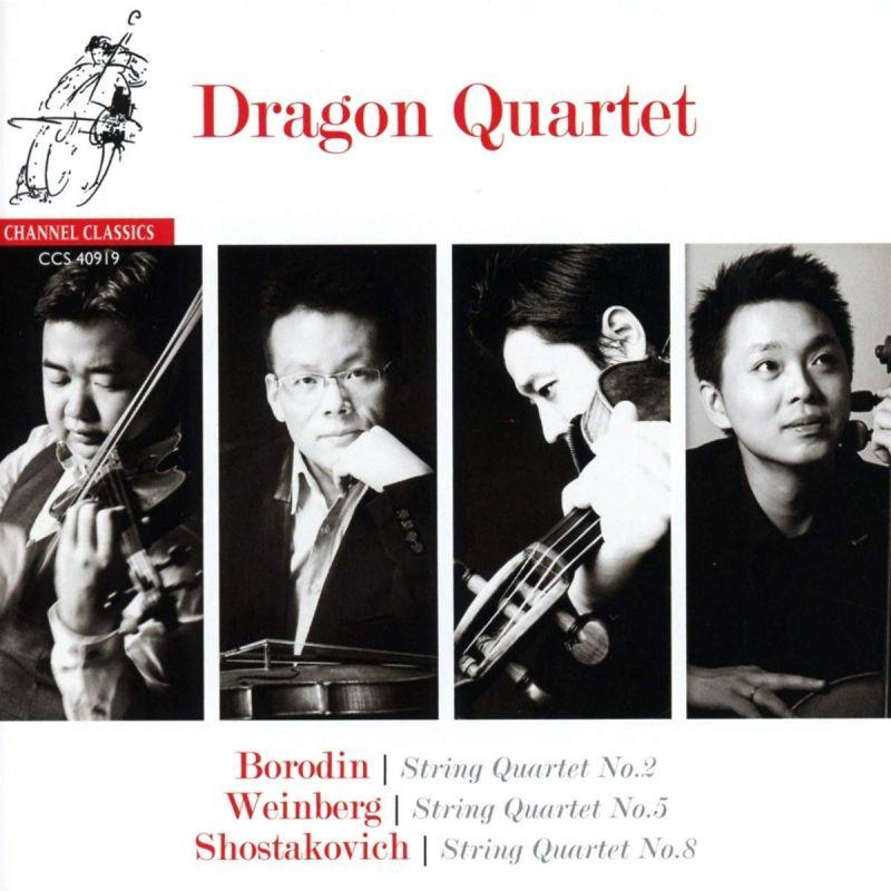 CCS40919. BORODIN; SHOSTAKOVICH; WEINBERG String Quartets