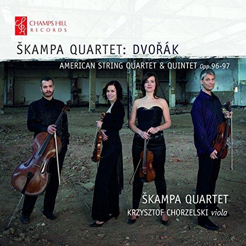 CHRCD110. DVOŘÁK American String Quartet and Quintet