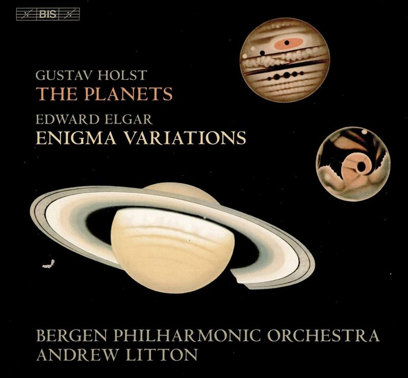 Review of ELGAR Enigma Variations HOLST The Planets (Litton)