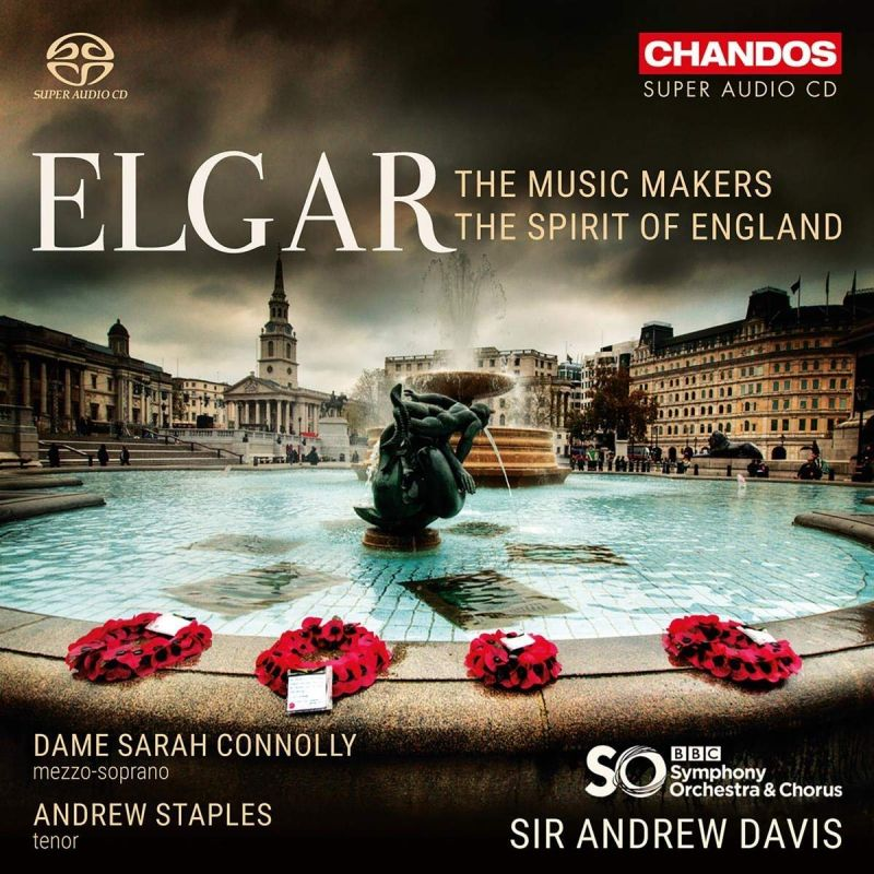 Review of ELGAR The Music Makers. The Spirit of England (Davis)