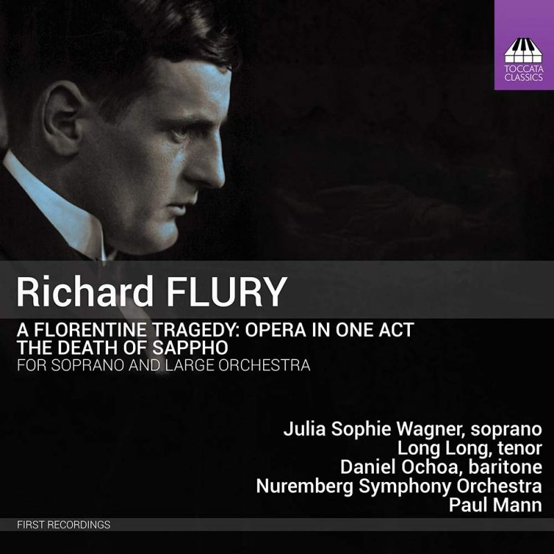 Review of FLURY A Florentine Tragedy; The Death of Sappho (Mann)