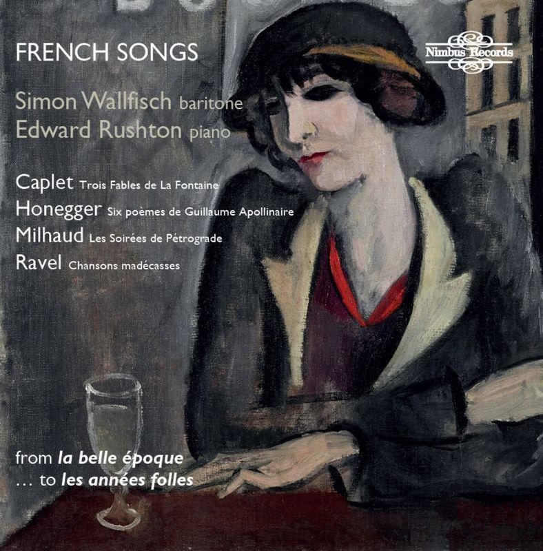 NI5938. Simon Wallfisch: French Songs