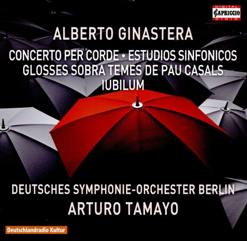 C5271. GINASTERA Concerto per corde. Estudios sinfonicos