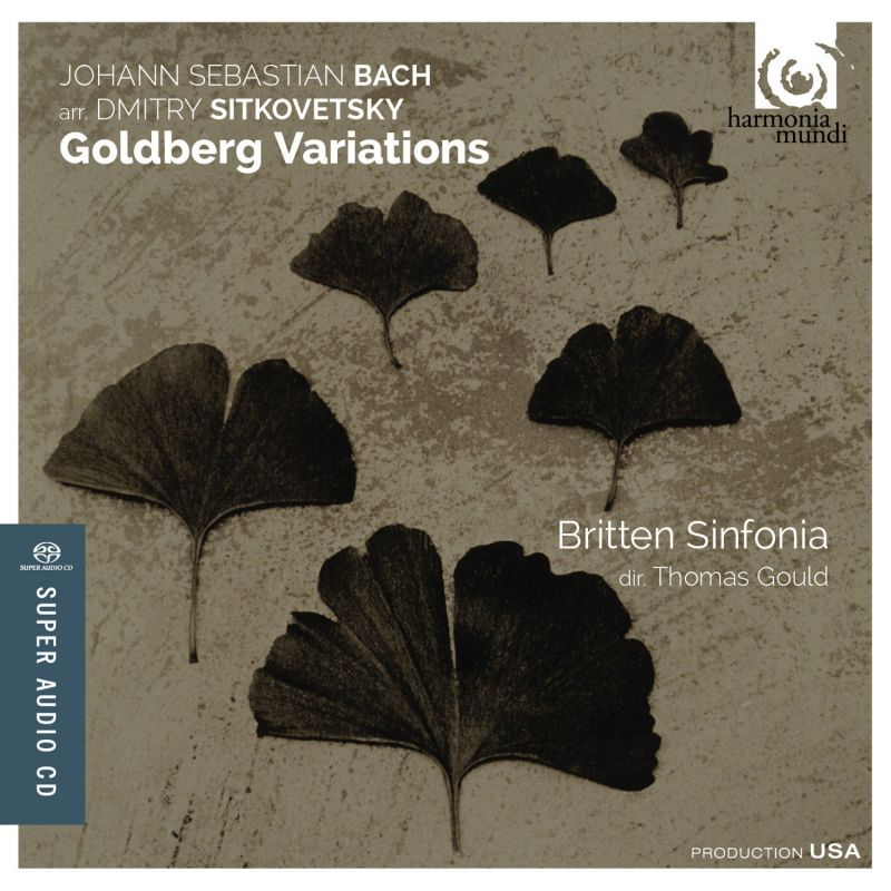 HMU80 7633. JS BACH Goldberg Variations