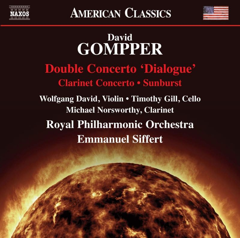 Review of GOMPPER Double Concerto. Clarinet Concerto