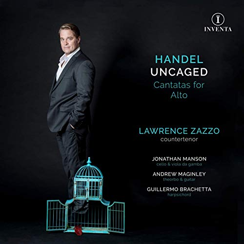 Review of Handel Uncaged: Cantatas for Alto