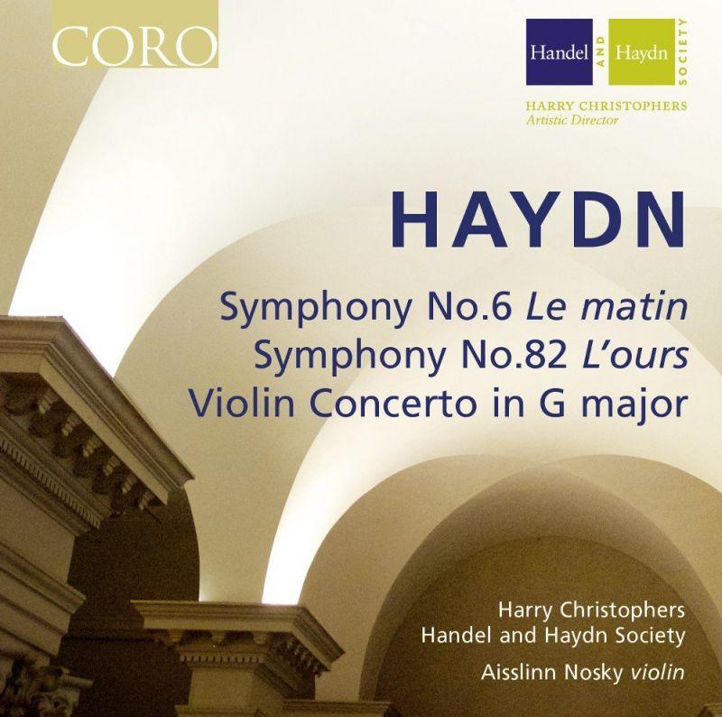 COR16113. HAYDN Symphonies Nos 6 & 82. Violin Concerto in G. Christophers
