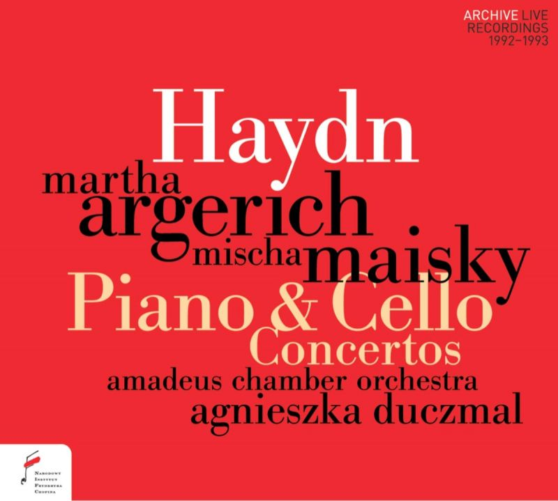 Review of HAYDN Piano and Cello Concertos (Duczmal)