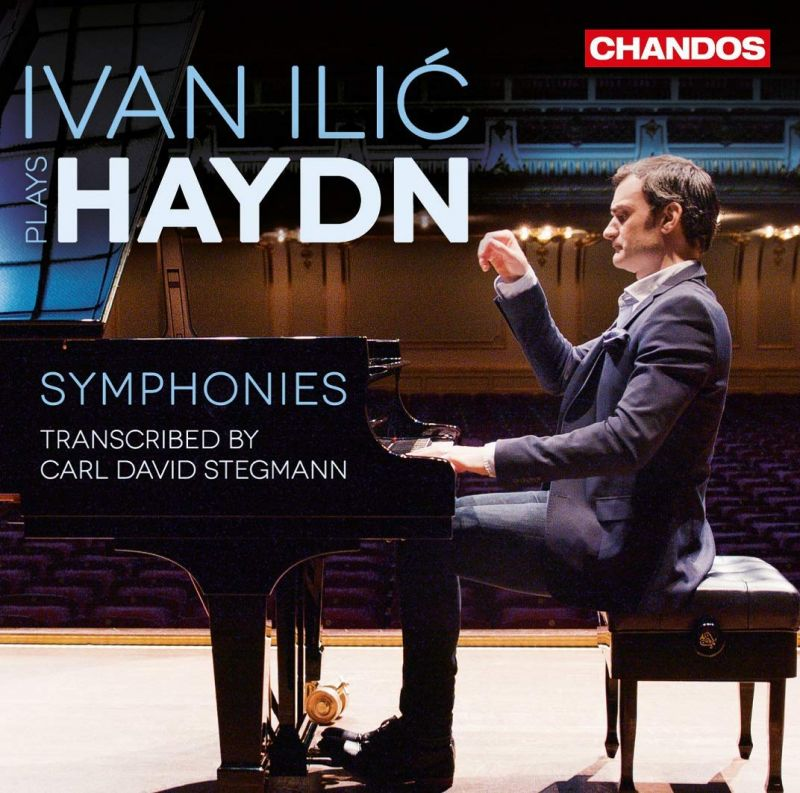 Review of HAYDN Symphonies (Trans. for solo piano by C Stegmann)