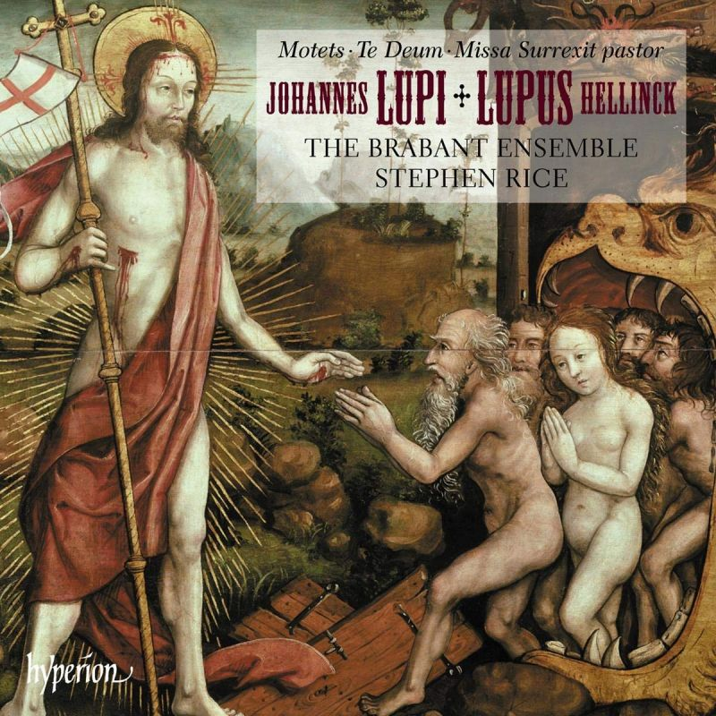 Review of HELLINCK Missa Surrexit pastor bonus LUPI motets