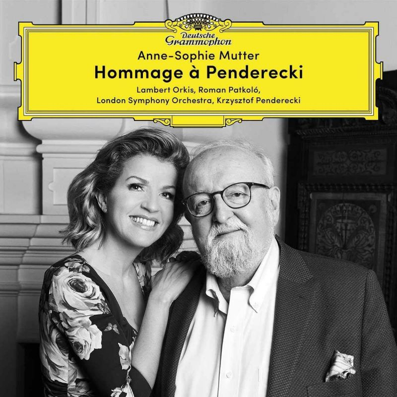 Review of LUTOSŁAWSKI; PENDERECKI Complete Music for Violin and Piano