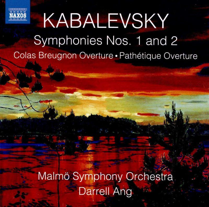 Review of KABALEVSKY Symphonies Nos 1 & 2 (Ang)