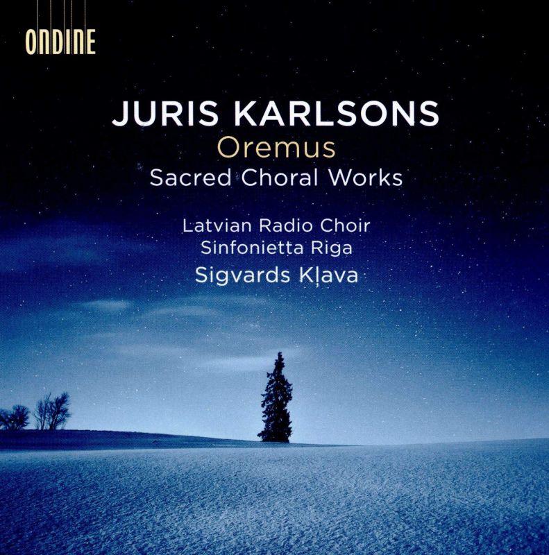 Review of KARLSONS Oremus: Sacred Choral Works