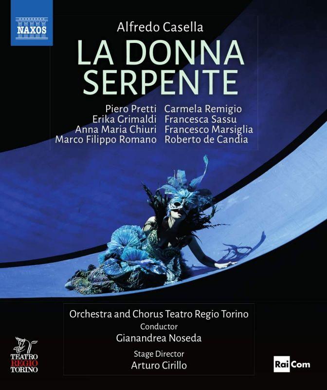 2 110631. CASELLA La donna serpente (Noseda)