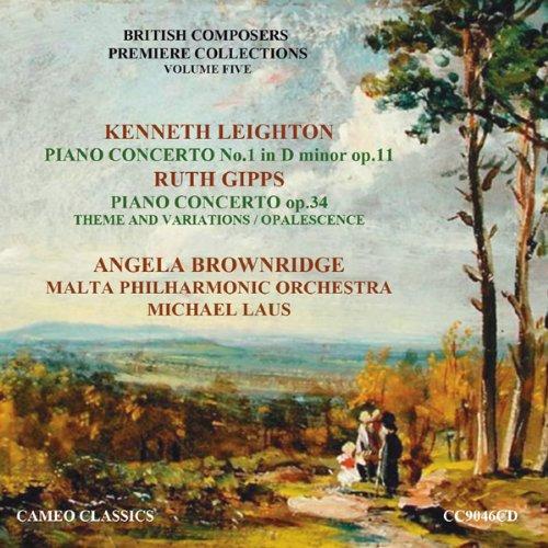 CC9046CD. LEIGHTON Piano Cncerto No 1 GIPPS Piano Concerto