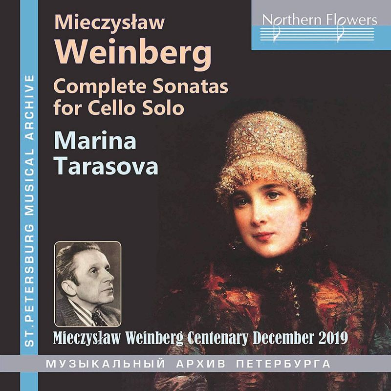 Review of WEINBERG Complete Sonatas for Solo Cello (Marina Tarasova)