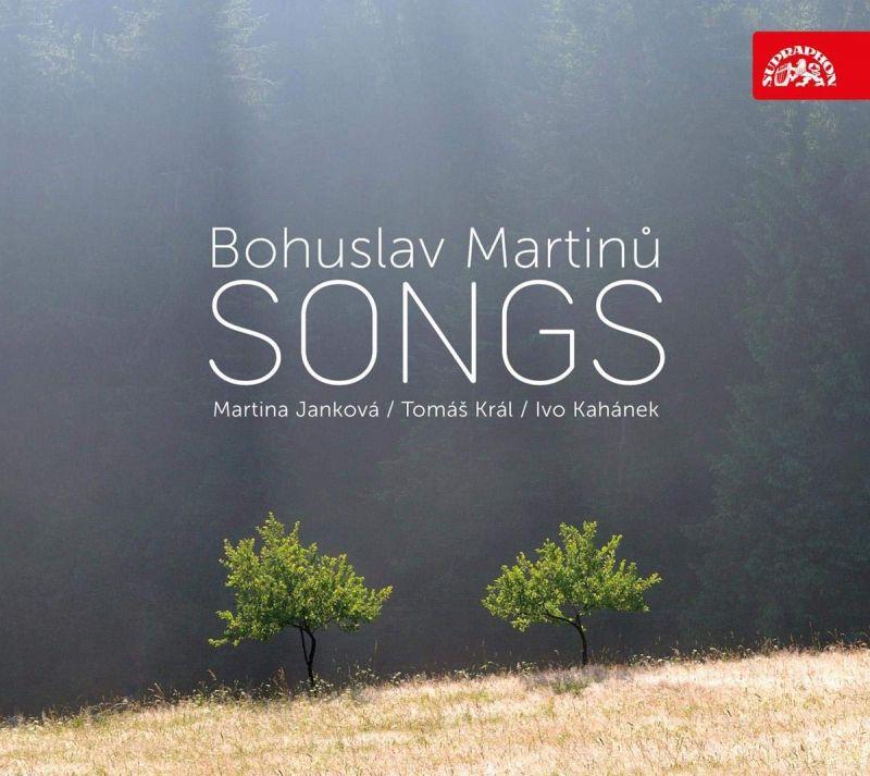 SU4235-2. MARTINŮ Songs (Janková, Král, Kahánek)