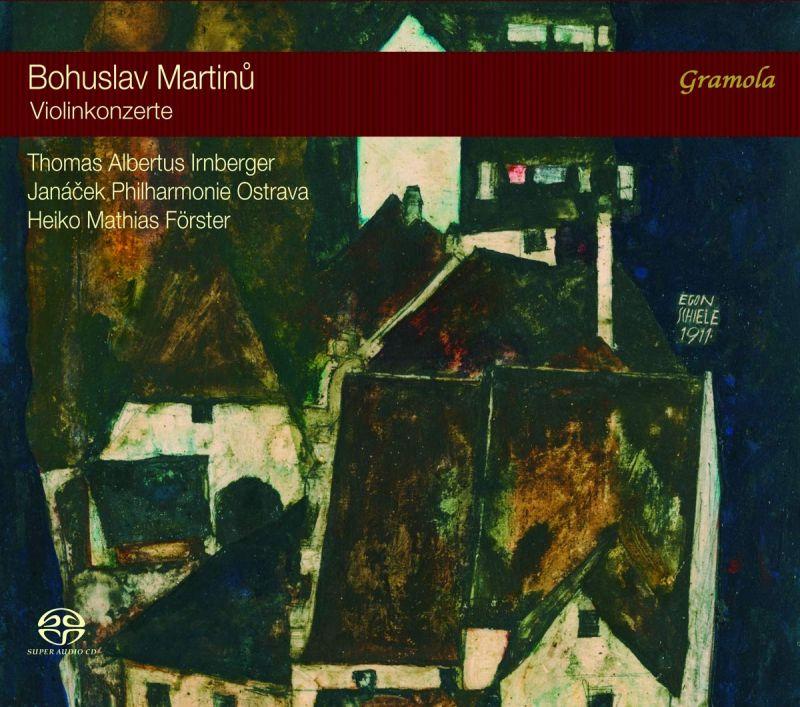 Review of MARTINŮ Violin Concertos Nos 1 & 2 (Irnberger)