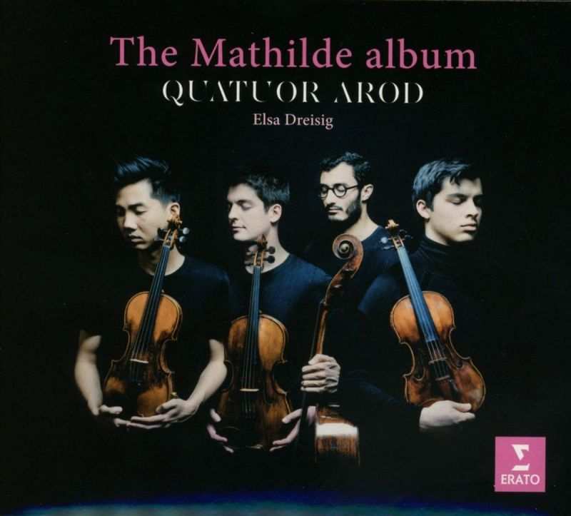 9029 54255-2. The Mathilde Album (Quatour Arod)