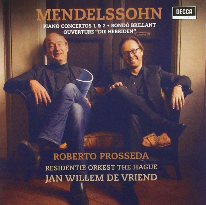 Review of MENDELSSOHN Piano Concertos (Prosseda; Brautigam)