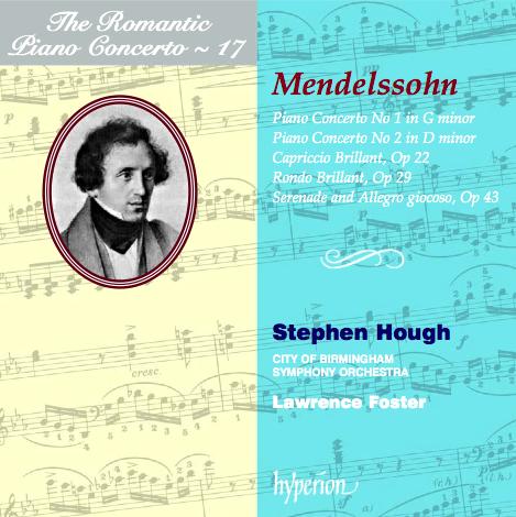The Romantic Piano Concerto, Volume 17 – Mendelssohn