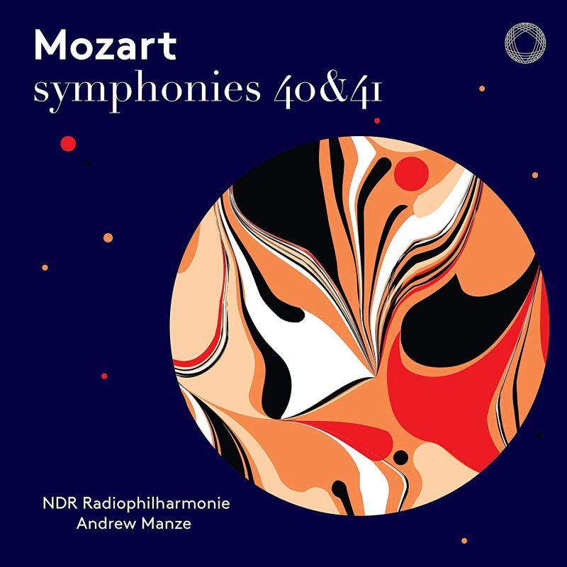 Review of MOZART Symphonies Nos 40 & 41 (Manze)