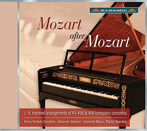 CDS7723. MOZART Piano Concertos Nos 18 & 20 arr. Hummel